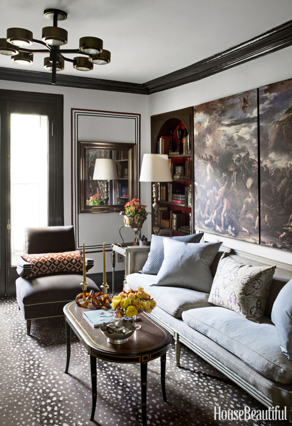 gray living room ideas - decorating living rooms with gray