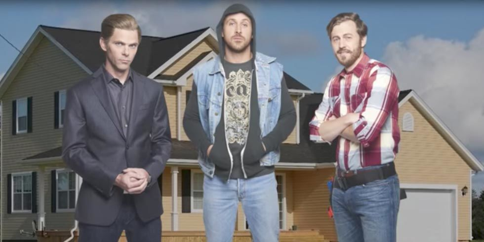 Ryan Gosling Hilariously Spoofed the Property Brothers on SNL This Weekend