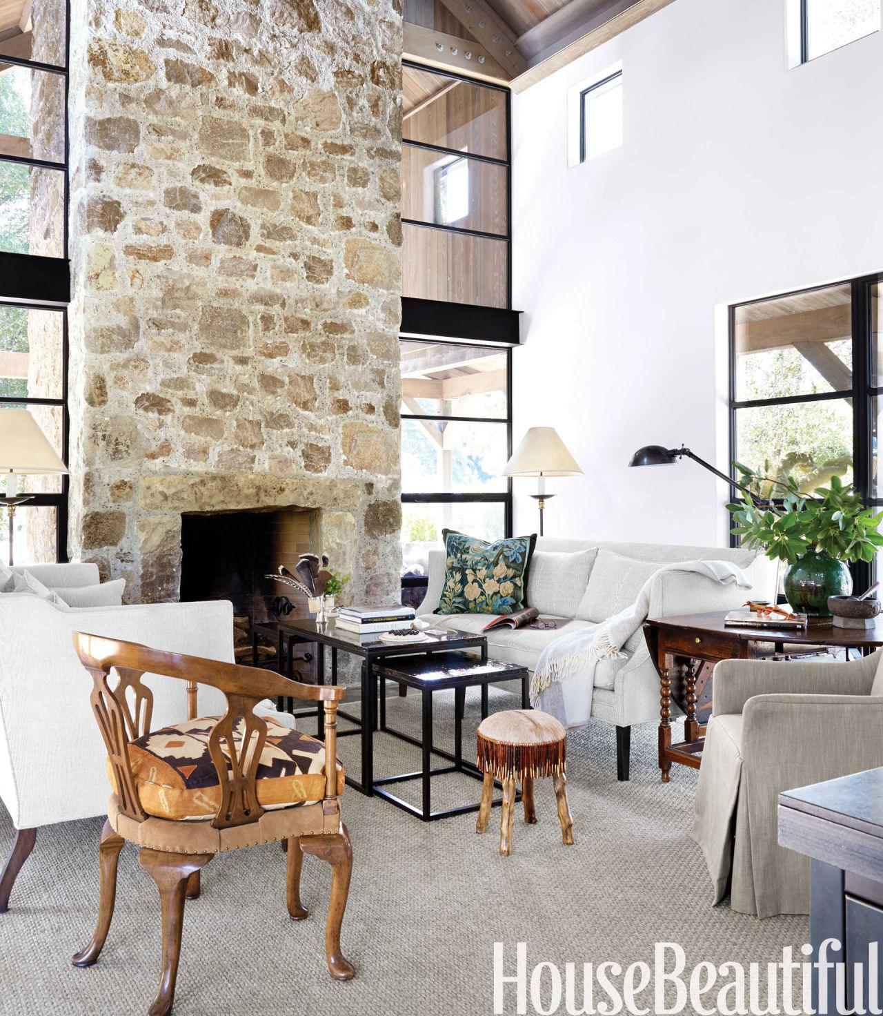 Modern Natural Stone : Natural modern house barn style