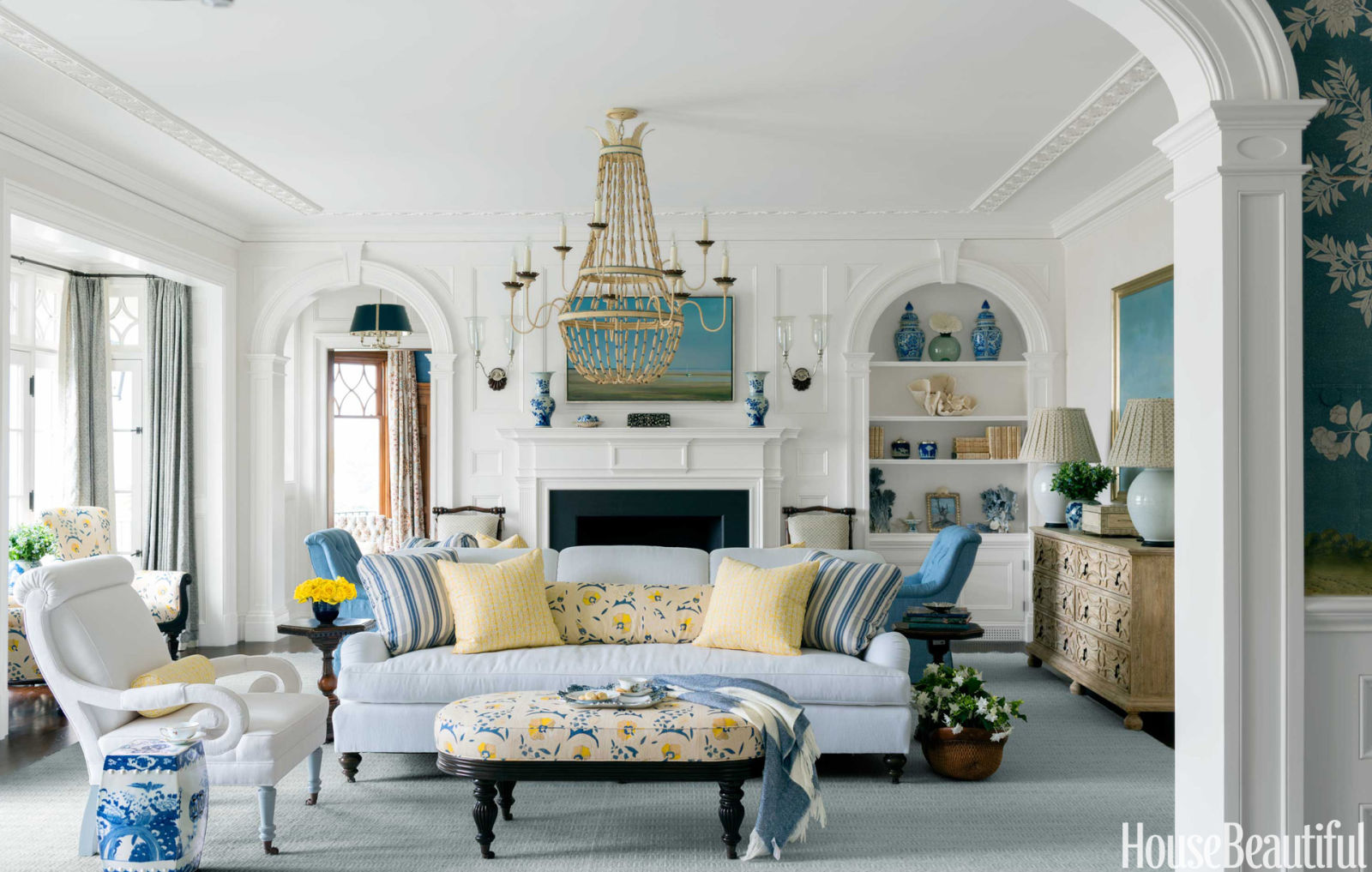 blue and white house blue and white decorating ideas