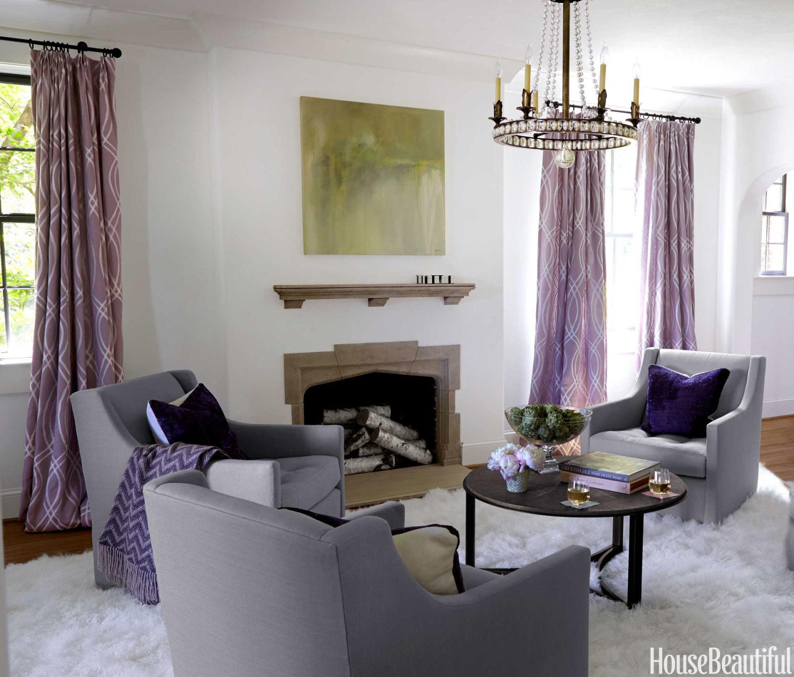 Living Room Club Chairs Glamorous And Feminine Getaway Apartment Glamorous Decorating Ideas
