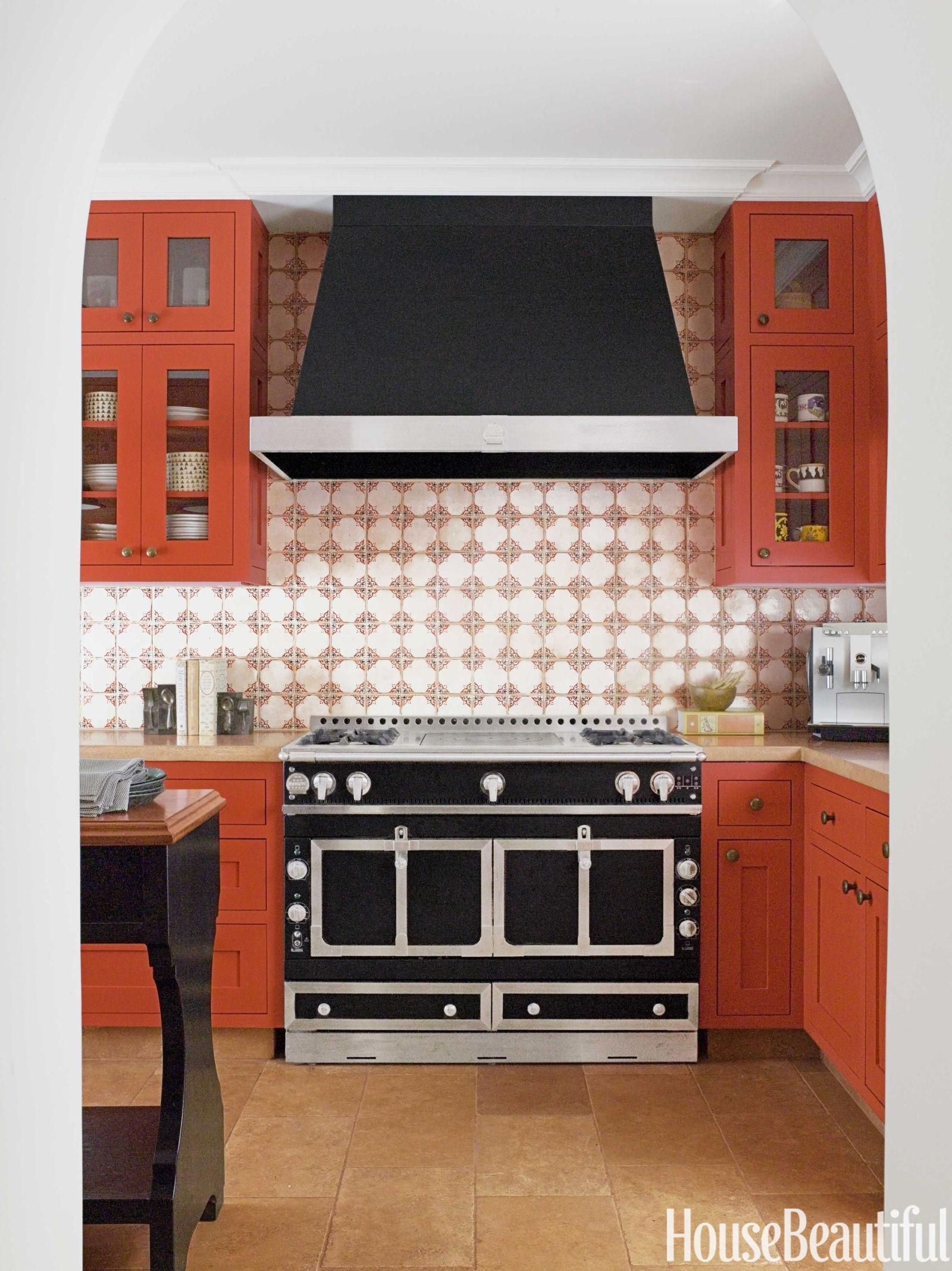 Orange Kitchen Decor: 20 Ideas And Designs photo - 2
