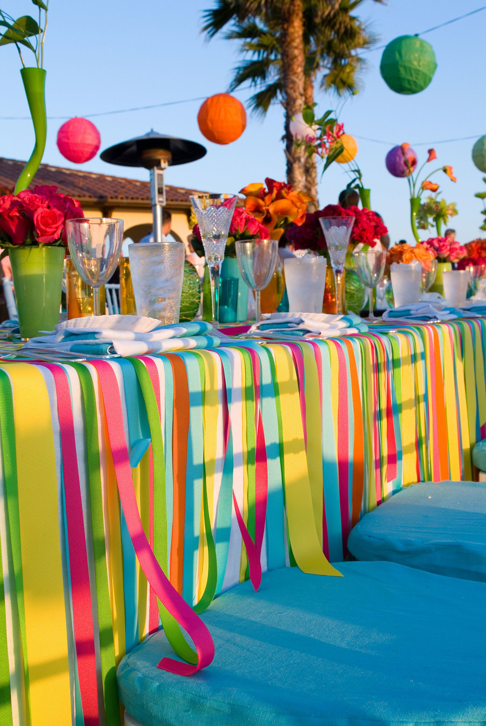backyard party ideas - how to throw an outdoor party