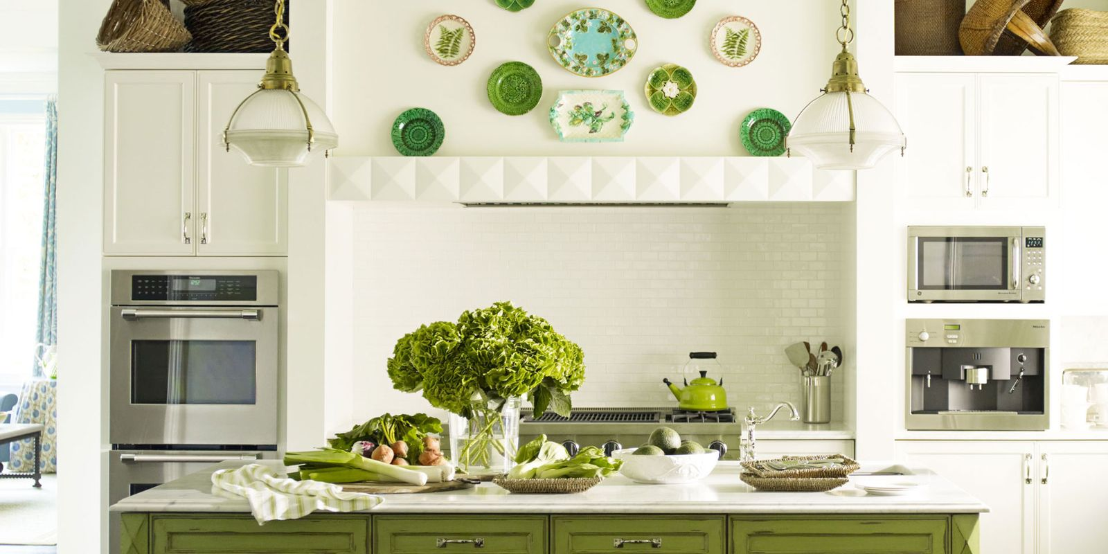 Green Kitchen Design Ideas ~ Green kitchens ideas for kitchen design