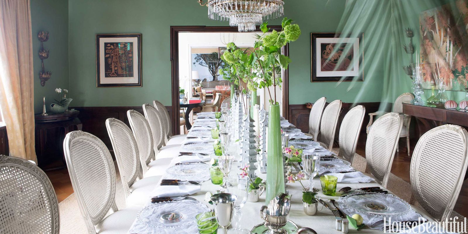 Green Dining Room Colors 25 best dining room paint colors - modern color schemes for dining