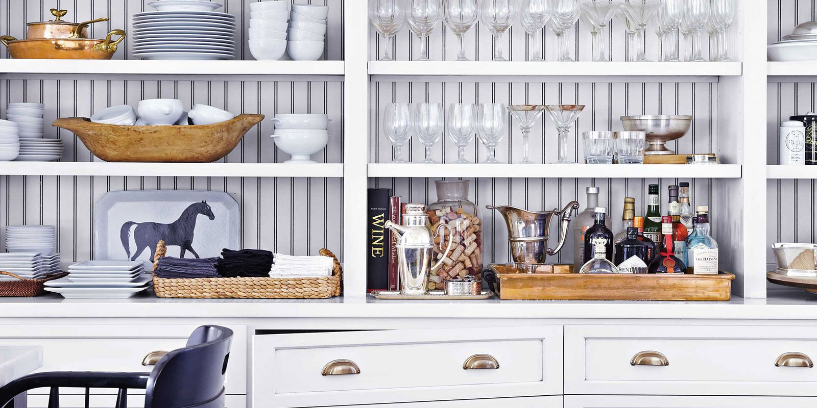 16 unique kitchen storage ideas kitchen organization tips for Unusual storage ideas