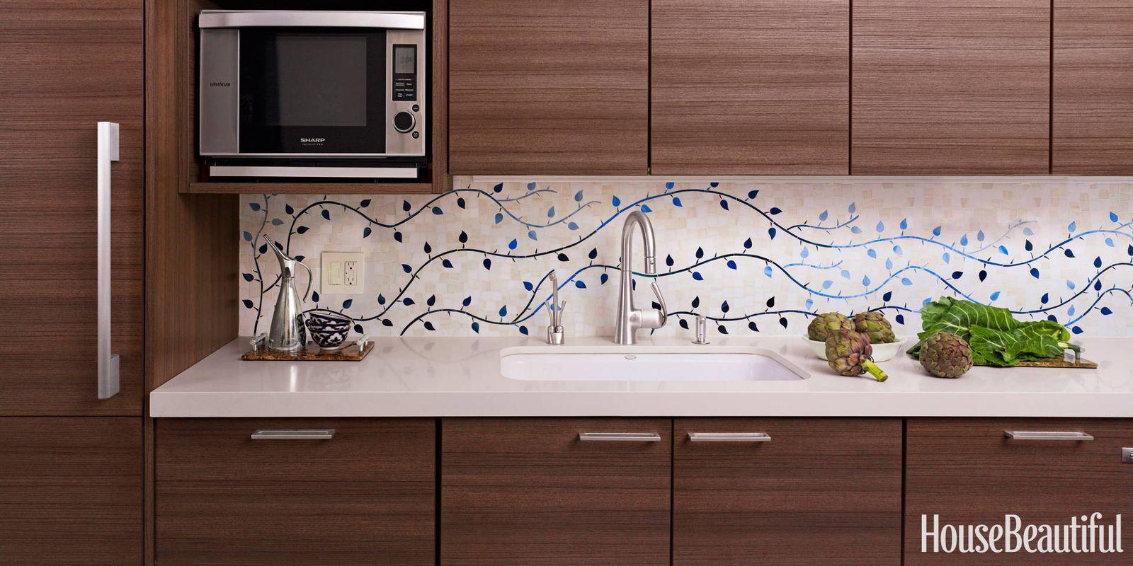 Kitchen Tile Backsplash Murals Caroline Beaupere Interview Caroline Beaupere Interior Design