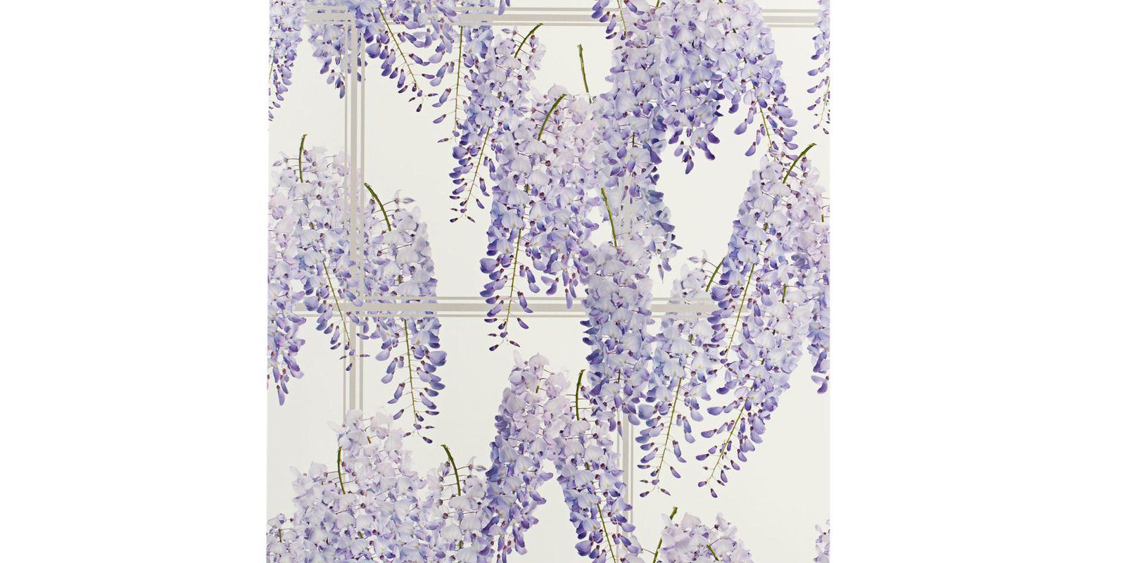 wisteria wallpaper bathroom - photo #29