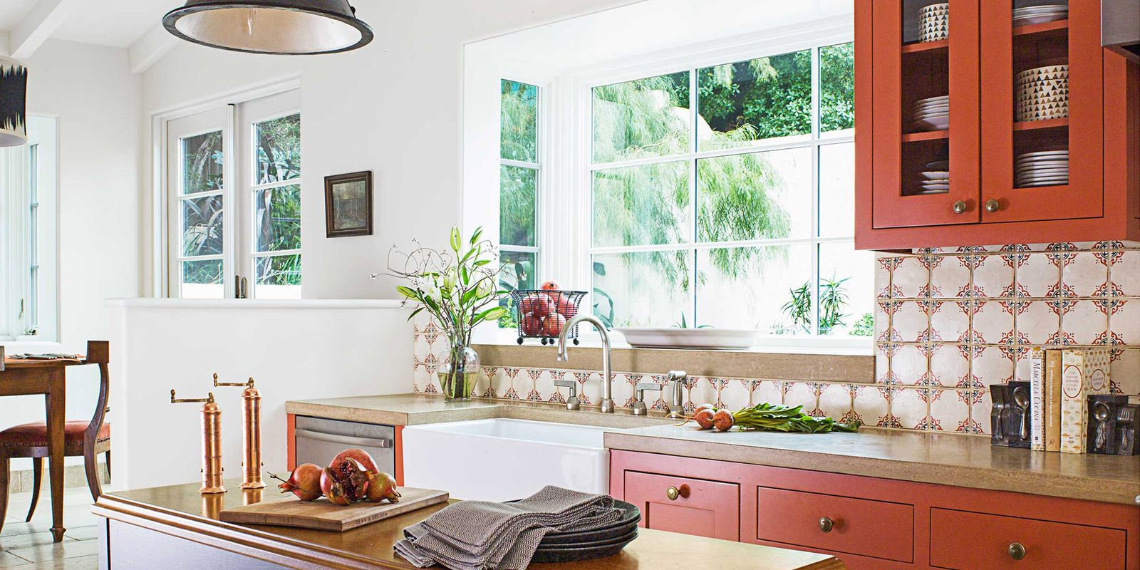 Http Www Housebeautiful Com Room Decorating Kitchens G1857 Burnt Orange Kitchen 0514