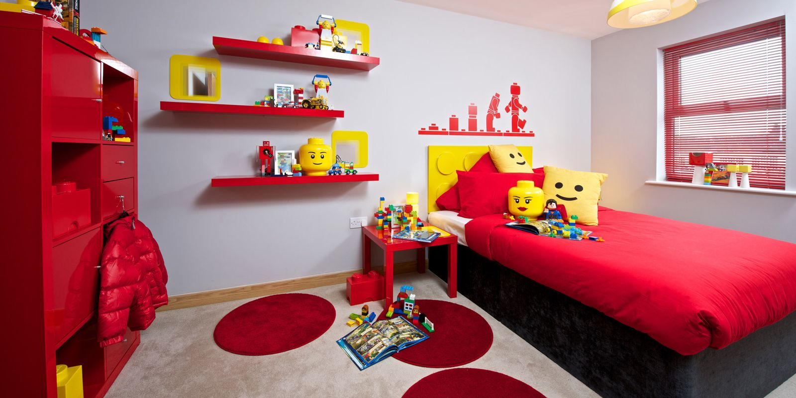 Lego Kids Bedroom Weston Homes Lego Room