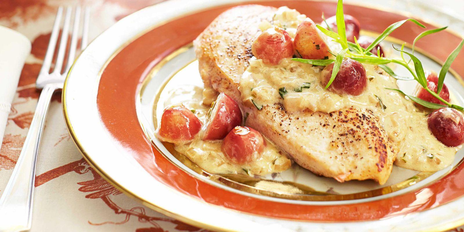 Chicken Veronique Champagne Chicken Veronique  Alex Hitz Chicken Recipe