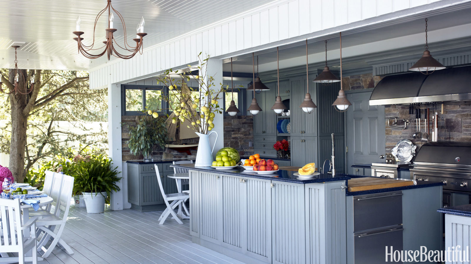 17 outdoor kitchen design ideas and pictures
