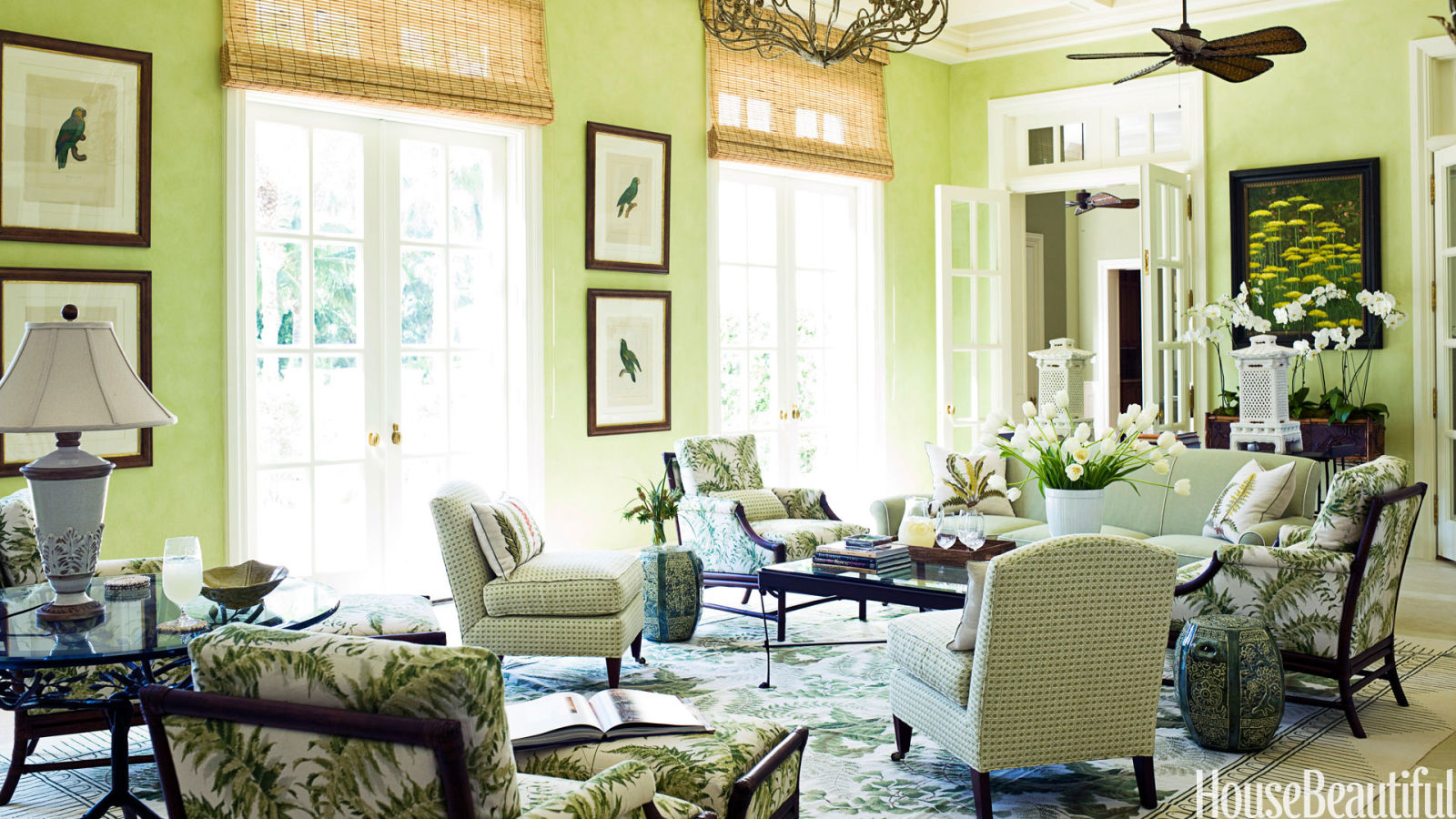 Rooms With Green Walls rooms color meaning - paint color meaning