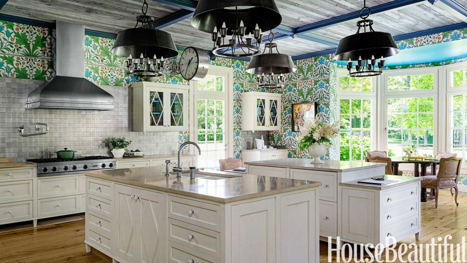 Designer Kitchen Wallpaper William Morris Wallpaper Kitchen Stephen Sills Kitchen Design