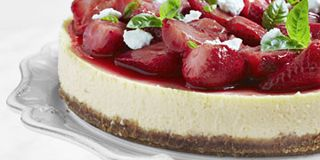Strawberrry Cheesecake Recipe Tyler Florence Goat Cheese