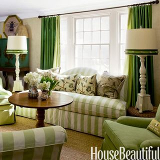 In Colors Ranging From Lime To Mint These Gathering Spaces Are For Green Lovers