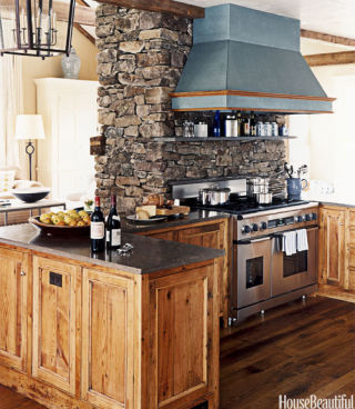 Happy entry halls happy foyers - Awesome kitchen from stone more cheerful ...