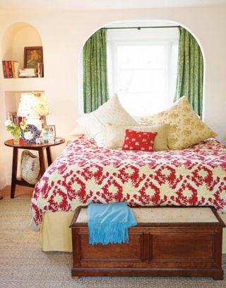 Kathryn Ireland kathryn ireland - ojai - spanish style home - bold and bright