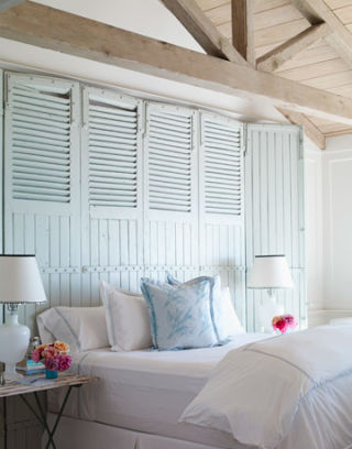 Carolyn Espley white beach house in california - decorating a beach house with white