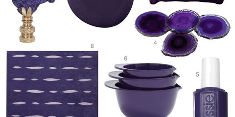 dark purple home decor - midnight purple