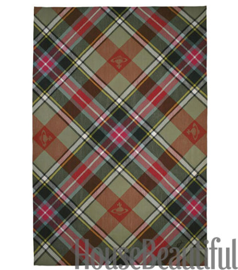 Attractive Plaid Rugs