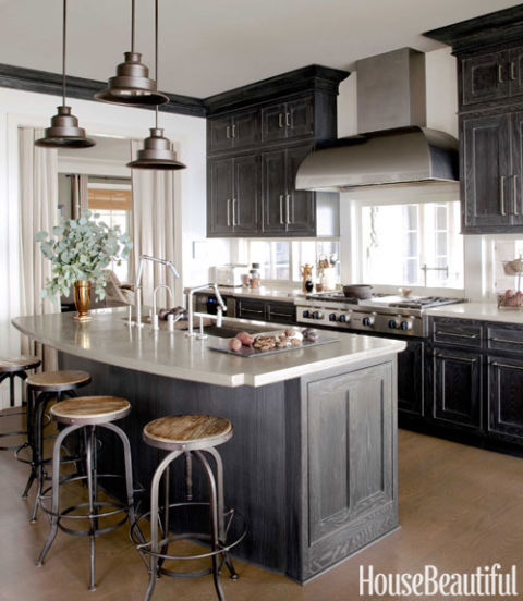 Kitchen Cabinet Stain Ideas: 40 Kitchen Cabinet Design Ideas