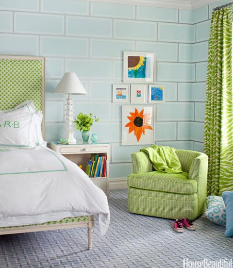 Wallpaper House Beautiful: Cool Kids Bedrooms