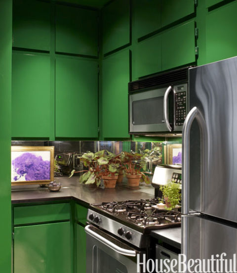 Pictures Of Green Kitchens: Ideas For Green Kitchen Design