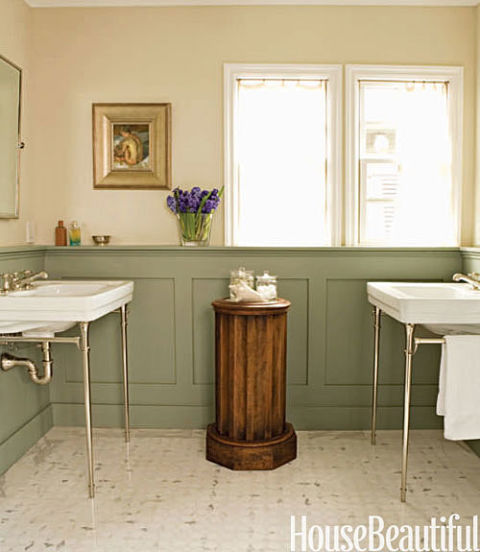 Sage Green Bath. Green Bathrooms   Ideas for Green Bathrooms