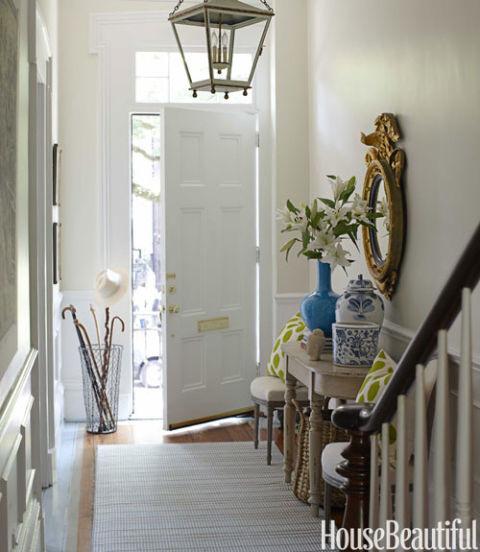 Foyer Minimalist Baker : Savannah home tour row house decorating ideas