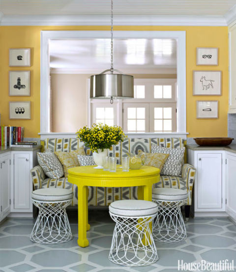 White Kitchen Yellow Cabinets yellow kitchens - ideas for yellow kitchen decor
