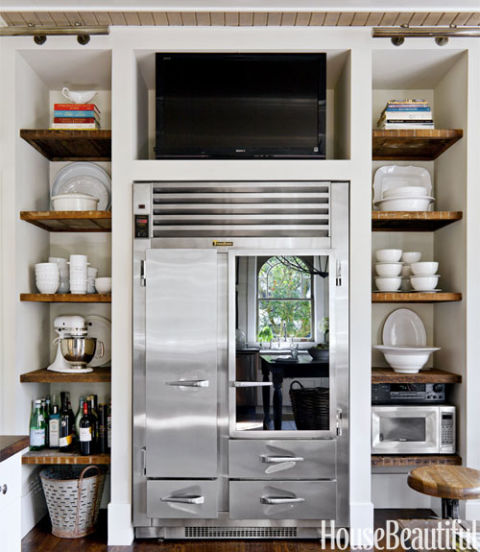 French Industrial Kitchen Design: French Kitchen Decorating Ideas