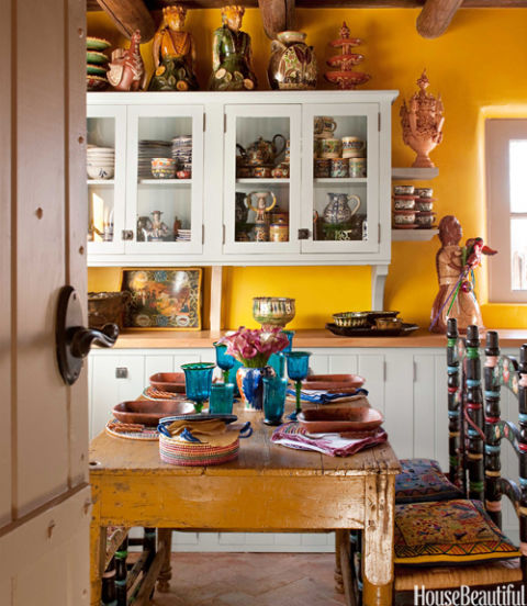 Http Www Housebeautiful Com Room Decorating Kitchens G1263 Southwest Kitchen Design And Decor 0912