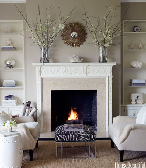 Fireplace Decorating Ideas Photos: Fireplace Decorating Ideas