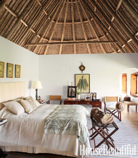Suzanne Kasler Interiors Kenya House - Open Air House in Kenya