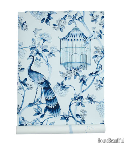 Wallpaper With Birds And Branches Best Bird Wallpapers 3 Chinoiserie Stencil Wall Mural Oriental Blue