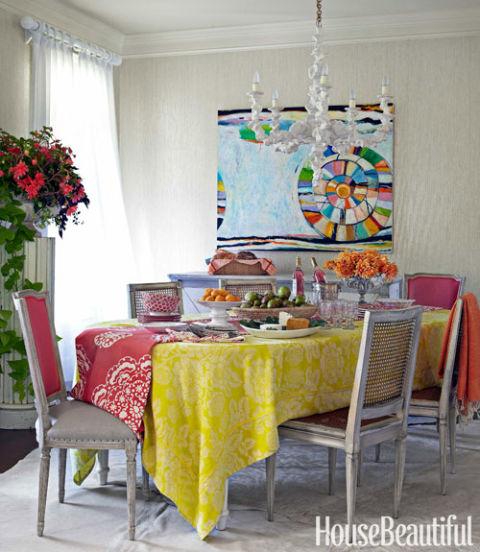 Colorful Cottage Decorating Ideas