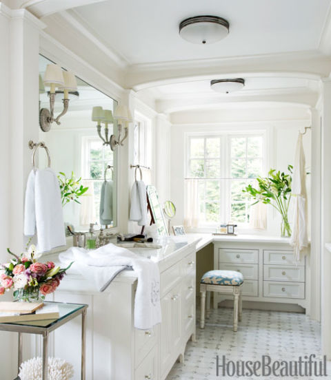 House Beautiful Bathroom his and hers bathroom designs - husband and wife bathroom