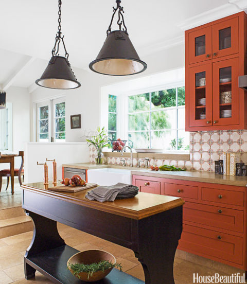 Popular Kitchen Paint And Cabinet Colors Colorful