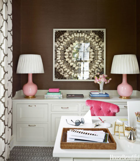 Colorful Home Office colors for home offices - paint color ideas for home offices