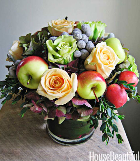25 fall flower arrangements - ideas for fall table centerpieces