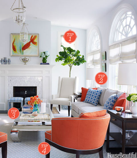 Family Living Room Design Ideas That Will Keep Everyone Happy: Libby Langdon One Day Makeover