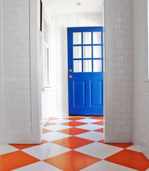 Painted Floor Designs Painted Floor Ideas