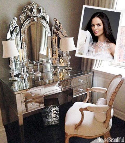 Wayfair Bathroom Vanity >> Georgina Chapman Vanity - Georgina Chapman Beauty Picks