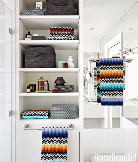 11 Best Missonihome Artifort Images On Pinterest: Chevron Bathroom Tile