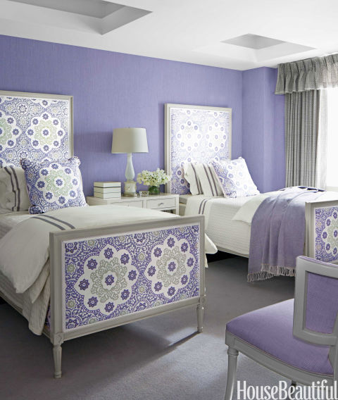 purple - Bedrooms Color