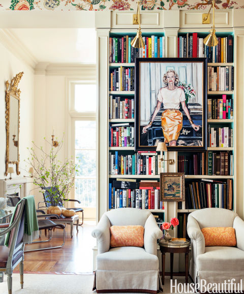 Bookcase Design Ideas hall with bookcase Bookshelf Portrait