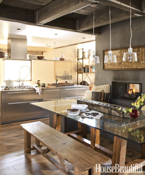 Contemporary Rustic Kitchen Design: Best Kitchens Of 2012