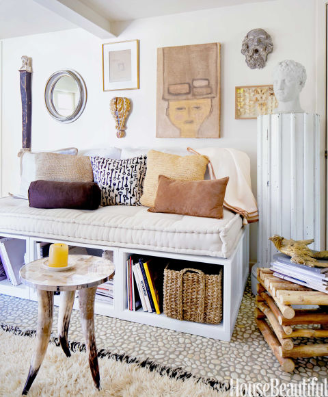 Small space design ideas how to make the most of a small - Bedside tables small spaces decor ...