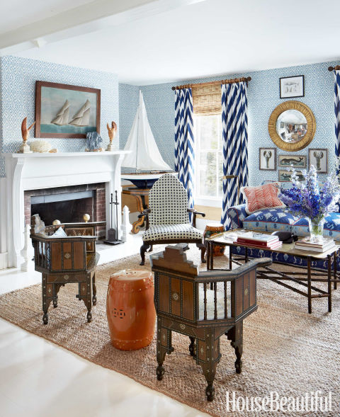 John Knott And John Fondas Maine Summer House Quadrille Design Interiors